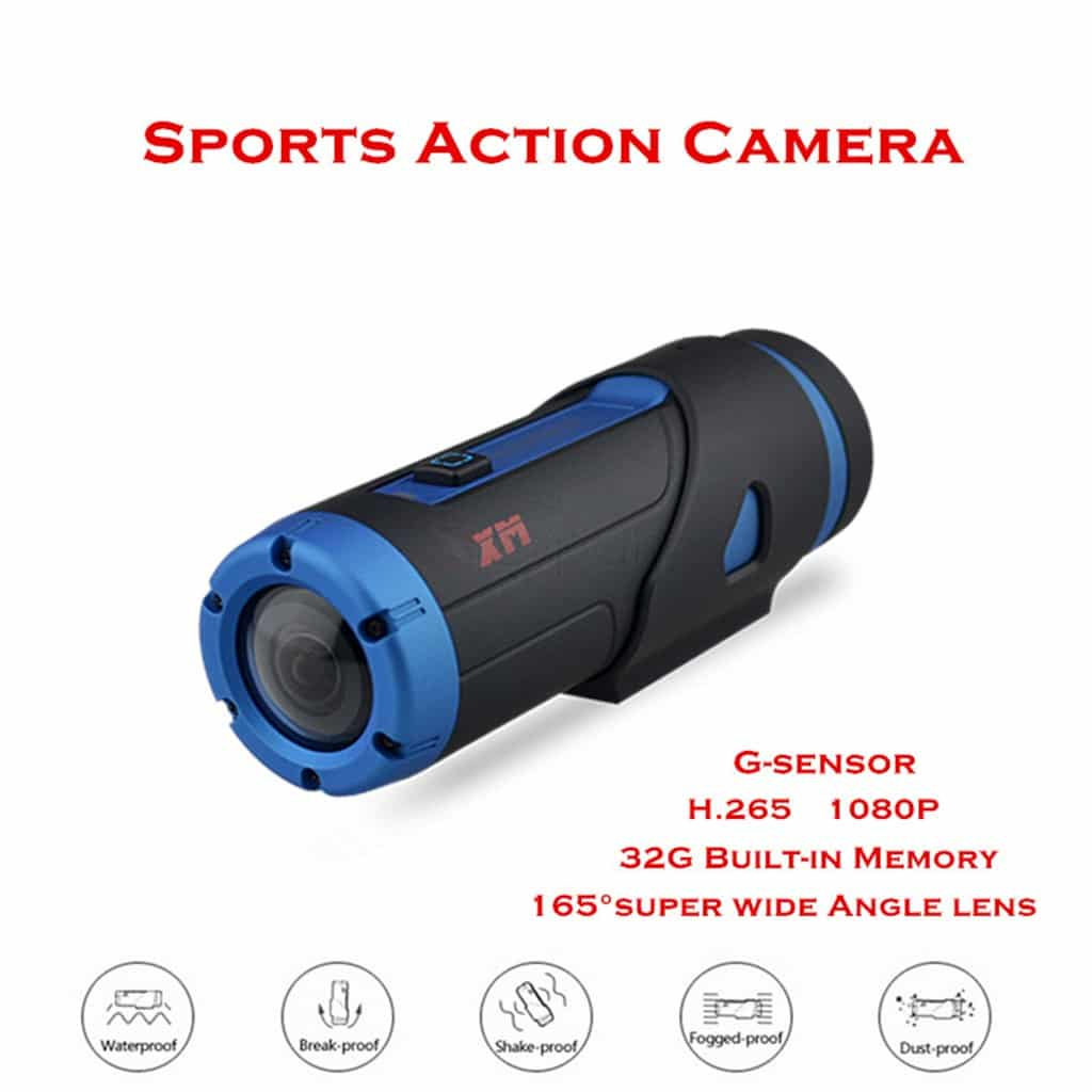 Warrior Waterproof Action Camera